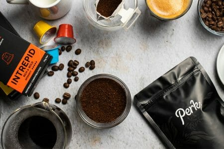Perk Coffee Full Products