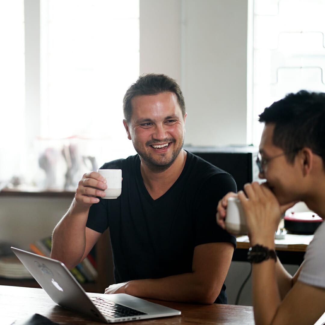 Perk Coffee Founder Paul